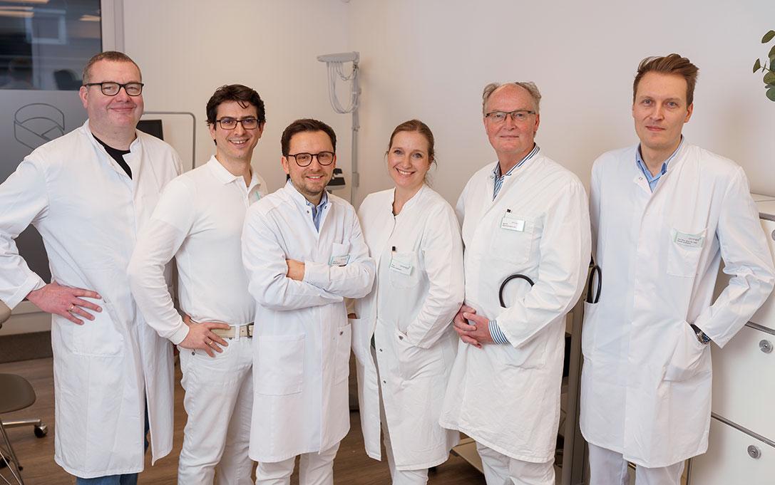Jochheim Medizin, Gruppenbild der Ärzte