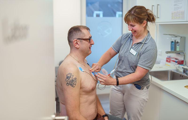 Jochheim Medizin, Darstellung des Langzeit-EKGs