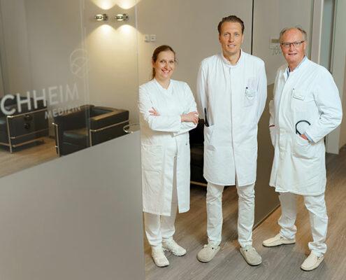 Das Leitungsteam des medizinischen Versorgungszentrum für Kardiologie Jochheim Medizin in Hattingen