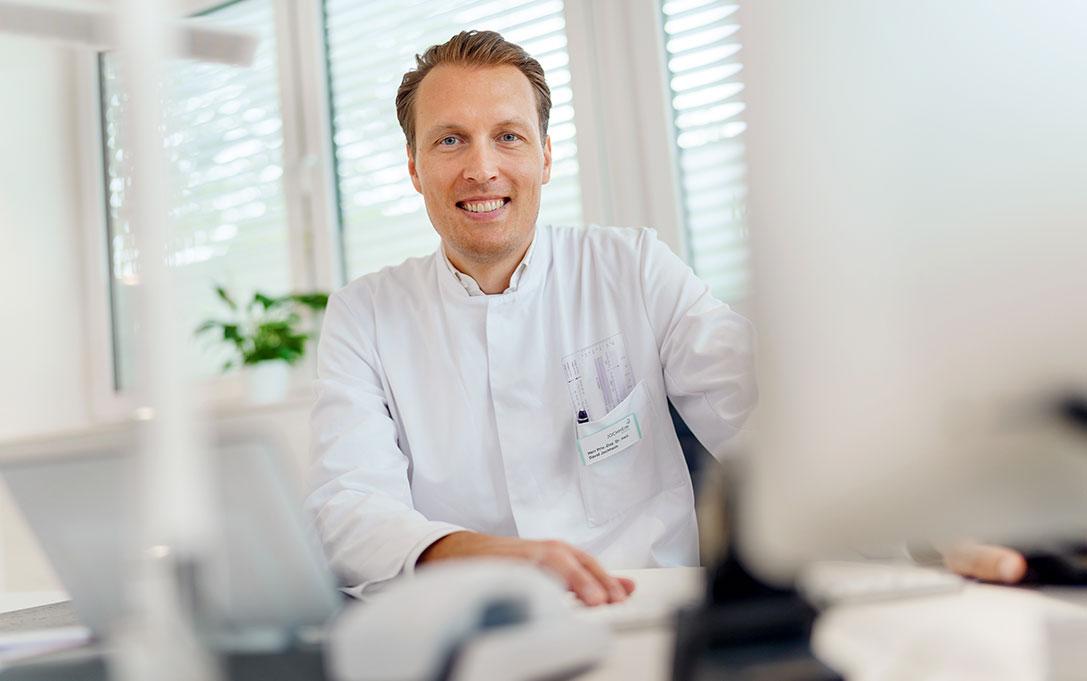 Priv.-Doz. Dr. med. David Jochheim, Leitung des des medizinischen Versorgungszentrums für Kardiologie Jochheim Medizin in Hattingen