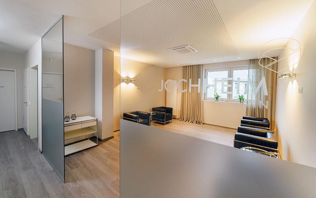 Wartezimmer des medizinischen Versorgungszentrums für Kardiologie Jochheim Medizin in Hattingen